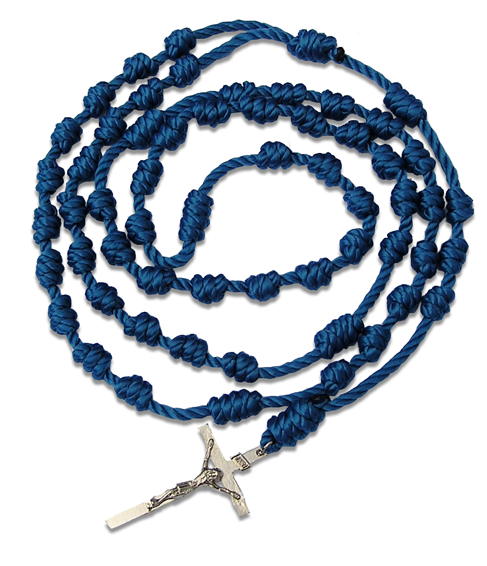 Free All-Twine Knotted Rosary from Rosary Army.  Have More Peace.